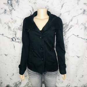 Only Utility Jacket Women Size Small Black